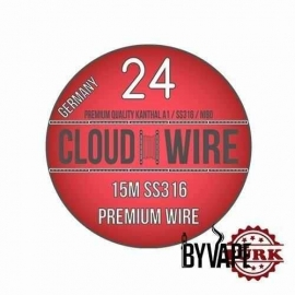 Cloud Wire SS316 24 GA