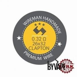 Wireman 26X32 Clapton T