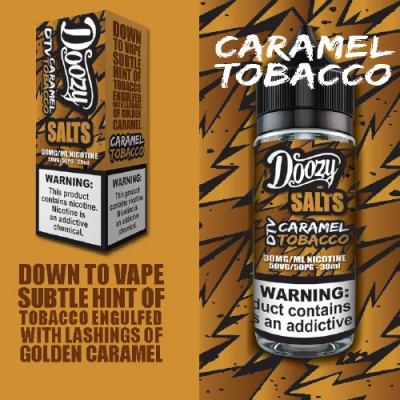 Doozy Caramel Tobacco Salt Likit