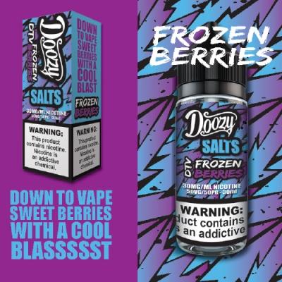 Doozy Frozen Berries Salt Likit