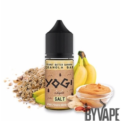 Yogi Original Peanut Butter Banana Salt Likit 30 ML
